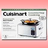 【Cuisinart クイジナート】スロークッカー カウンタートップクッキング【PSC-400PCJ】