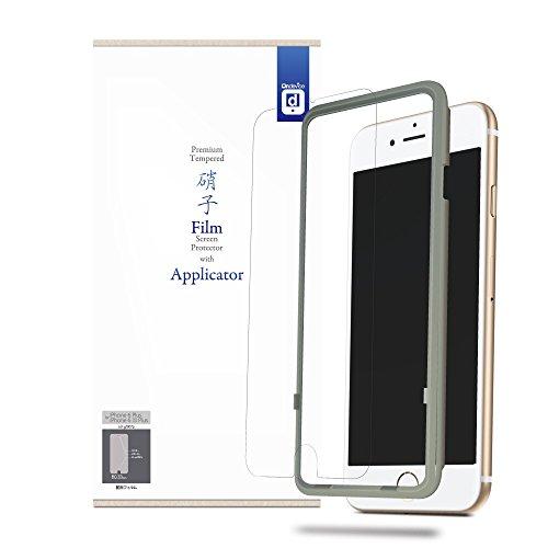 【貼付キット付属】Apple iPhone 6s Plus / iPhone 6 Plus (5.5インチ) ガラスフィルム 強化ガラス製 液晶保護フィルム 厚さ0.33mm 国産ガラス採用 2.5D 硬度9H ラウンドエッジ加工 アップル on-device【国内正規流通品】i6s Plus