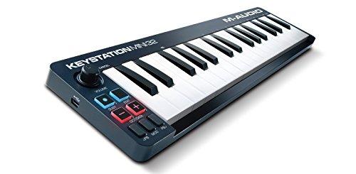 M-Audio USB MIDIキーボード 32鍵 Ableton Live Lite付属 Keystation Mini 32 【徹底紹介】中田ヤスタカのDTM機材を紹介! Cubase、Universal Audio Apollo Twin、GENELEC 8351A、KOMPLETE KONTROL S61 MK2を使用!(自宅スタジオ)
