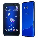 HTC U11 Factory Unlocked Phone グローバル版 SIMフリー (Sapphire Blue)