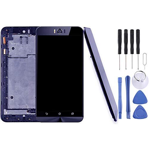 GuoBo LCD screen replacement ASUS Zenfone Selfie ZD551KL Z00UD液晶画面とデジタイザフルアセンブリ(フレーム付き)の修理&スペアパーツ (色 : Black)