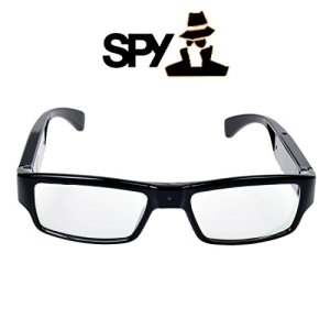 Totojp HD 720P高画質 メガネ型ビデオ&カメラ眼鏡 メガネ スパイ 防犯 録画 16GBmicroSD対応 小型カメラ