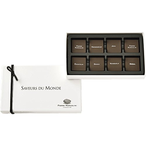 ピエールマルコリーニ チョコレート サブール デュ モンド 8枚入り