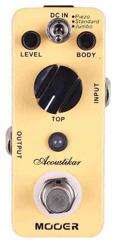 【国内正規品】 Mooer ムーアー Micro Series アコースティックギターシミュレーター Acoustikar MOOER エフェクター のコピー元一覧! 元ネタはあの名機!!
