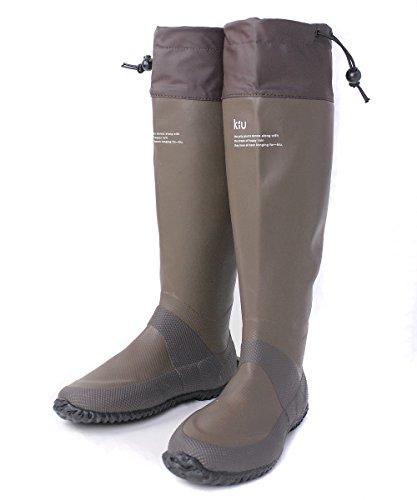 [キウ] packable rain boots パッカブル レインブーツ