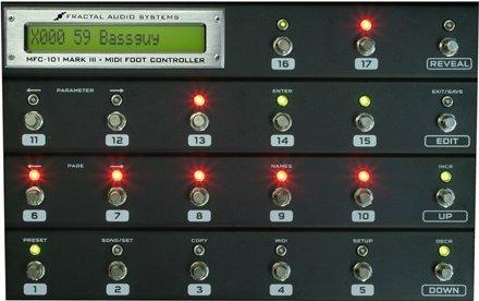 Fractal Audio Systems / MFC-101 Mark III MIDI Foot Controller ペダル Axe fx2 Looperを専用コントローラー無しで使う簡単な方法!ギターのアドリブなどに最適!
