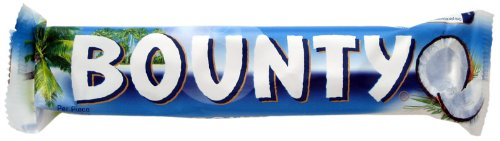Bounty Milk Chocolate (バウンティ ミルクチョコレートタイプ) 28.5g x 2 - 4 pack 【並行輸入品】【海外直送品】