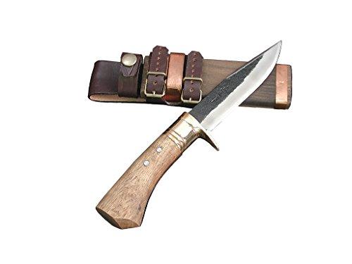 土佐アウトドア剣鉈 120 青2 黒槌 真鍮輪 樫柄 tautodoa-001