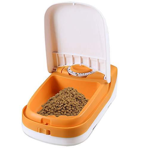ペット用自動給餌器 単食分可愛くて使いやすい自動給餌器タイマー給餌器猫用自動給餌器 タイマーは最大48時...