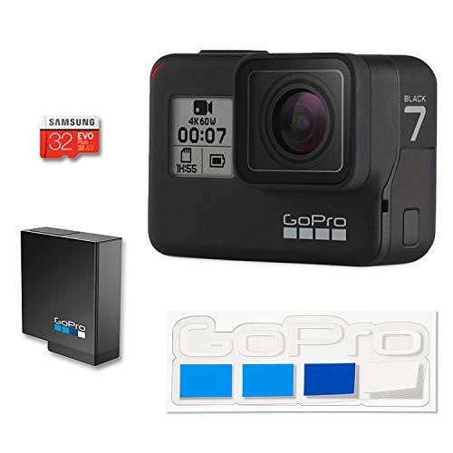 【国内正規品】GoPro HERO7 Black + 認定SDカード + GoPro公式限定ステッカー セット CHDHX-701-FW ゴープロ ヒーロー7 ブラック 【GoPro公式】