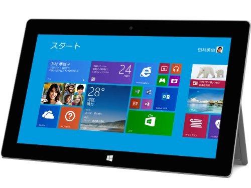 マイクロソフト Surface 2 32GB 単体モデル [Windowsタブレット・Office付き] P3W-00012 (シルバー)