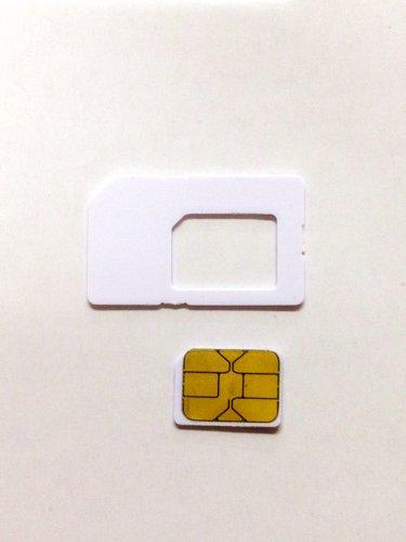 AU iPhone5 専用 純正Nano simカード0.67mm アクティベション〓アクティベートカードactivation