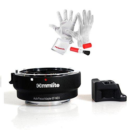 Commlite Auto-FocusオートフォーカスEF-NEXマウントアダプター・電子リング CanonキヤノンEF/ EF-Sレンズ to SonyソニーEマウントNEX A7 A7R対応
