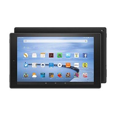 Fire HD 10 タブレット 16GB、ブラック