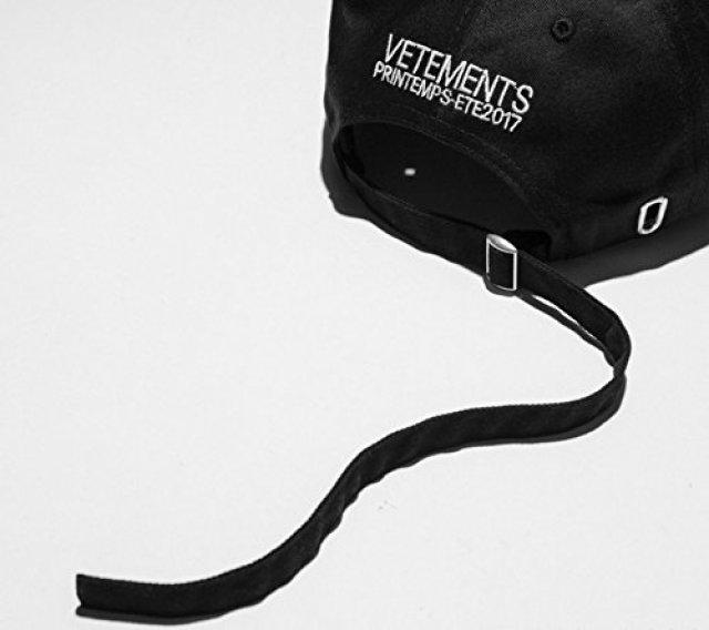 Vetements【ヴェトモン】 キャップ 帽子  男女兼用 夏新品 スポーツキャップ (A) [並行輸入品]
