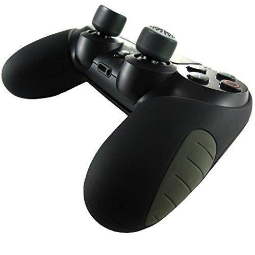 DUAL SHOCK4 に装着するだけでFPS用コントローラーに変身!FPSアシストキャップ&コントローラーカバー