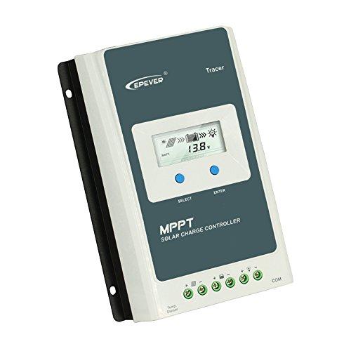 Y-SOLARトレーサー4210A MPPT 40A 12V 24Vオートソーラー充電コントローラーLCDソーラーパネルバッテリー充電レギュレータを切り替えます