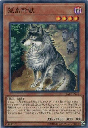 【シングルカード】SAST)孤高除獣/効果/ノーマル/SAST-JP030