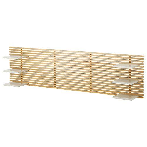 IKEA(イケア) MANDAL 50176313 ヘッドボード, バーチ, ホワイト