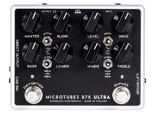 Darkglass Electronics ダークグラスエレクトロニクス ベース用オーバードライブ/プリアンプ Microtubes B7K Ultra (V2) 【国内正規品】【徹底紹介】Roselia 今井リサ(中島由貴)のエフェクターボード・機材を解析!ツマミ・ノブの位置も分かる!ベースを支える機材の数々を紹介!BanG Dream!バンドリ! 【金額一覧】