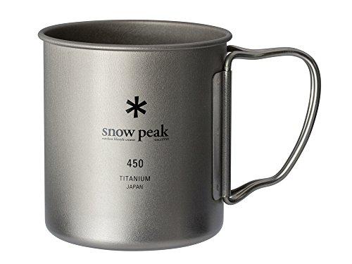 スノーピーク(snow peak) チタン シングルマグ 450 [容量450ml] MG-143