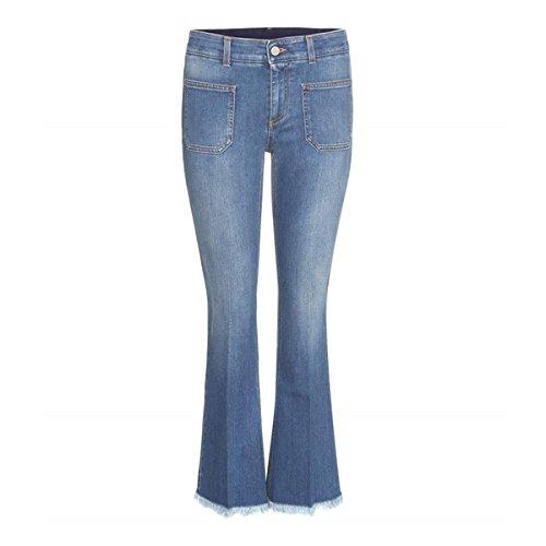 (ステラマッカートニー) Stella McCartney レディース ボトムス ジーンズ Distressed flared jeans 並行輸入品
