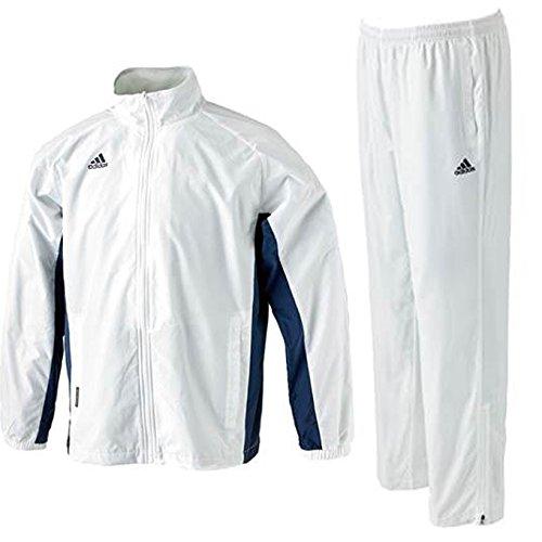 adidas(アディダス) BC ウィンドブレーカー 上下セット 【メンズ】 (BPB63/BPB64) (XO, ホワイト(AP6933/37))