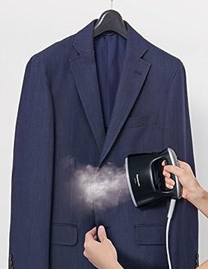 パナソニック 衣類スチーマー ブラック NI-FS470-K