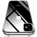 iPhone 11 ケース クリアケース 薄型ケース 透明ケース ソフト TPUケース シリコン 耐衝撃ケース アイフォン11 ケース 防塵 ワイヤレス充電対応 黄変防止 滑り止め おしゃれ 人気 クリスタル・クリア