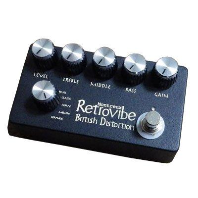 Montreux [モントルー] Retrovibe British Distortion エフェクターのツマミを固定するアイテム「Hawkeye Knob / Beatwalk」が超オススメ!ツマミロック!