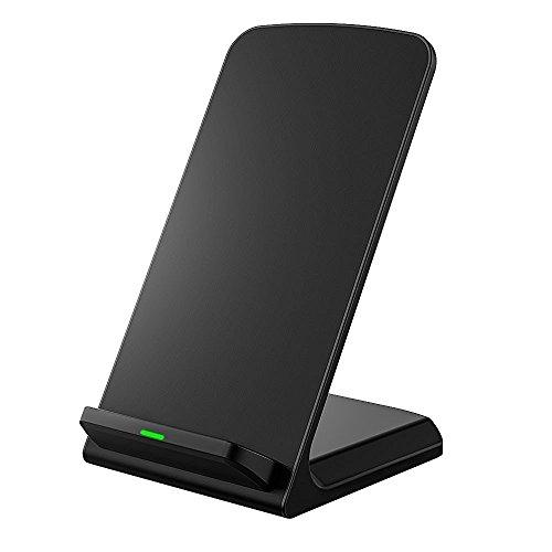 Seneo Qiワイヤレス充電器 スタンド型 3つのコイル Nexus 4 / 5 / 6 / 7(2013)Galaxy S6/S7/S6 Edge/S7 EdgeSHARP富士通KyoceraPanasonicMotorolaNokiaその他QI対応機種(ブラック