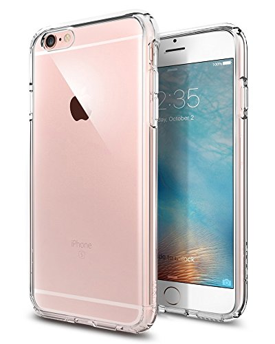 iPhone 6 ケース Spigen®   クリア バンパー iPhone 4.7 (2014) ウルトラ・ハイブリッド The New iPhone (国内正規品) (クリスタル・クリア 【SGP10954】)