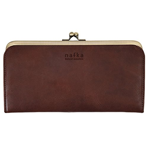 [ナフカ] の長財布はがま口派の女性にプレゼント