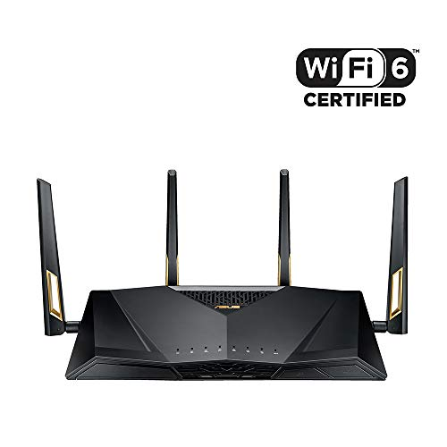 ASUS 次世代の超高速 ゲーミング Wi-Fi ルーター RT-AX88U 11ax 4804 + 1148Mbps 【 PS4 / Wii U/iPhone 対...
