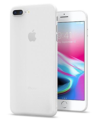 【Spigen】 スマホケース iPhone7 Plus ケース 対応 レンズ保護 超薄型 超軽量 エアースキン 043CS20499 (ソフト・クリア)