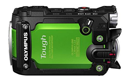 OLYMPUS アクションカメラ STYLUS TG-Tracker グリーン 防水性能30m 耐衝撃2.1m 耐荷重100kgf 防塵 耐低温-10℃