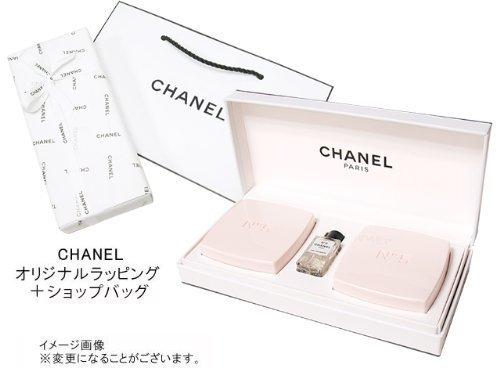 CHANELの石鹸セットは女性への人気のプレゼント width=