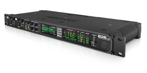 MOTU 828mk3 Hybrid 28イン30アウト Firewire / USB2 オーディオ / MIDIインターフェイス 【徹底紹介】ヒャダイン(前山田健一)のDTM機材を紹介! Cubase、MOTU 828mk3、Mac、microKORG、Beta 58Aを使用!(自宅スタジオ)