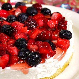 スイーツ 誕生日ケーキ バースデーケーキ ミックスベリーのフルーツケーキ(5号:直径15cm)