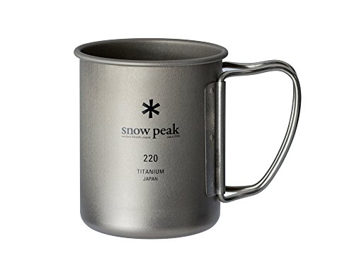 スノーピーク(snow peak) チタン シングルマグ 220 [容量220ml] MG-141
