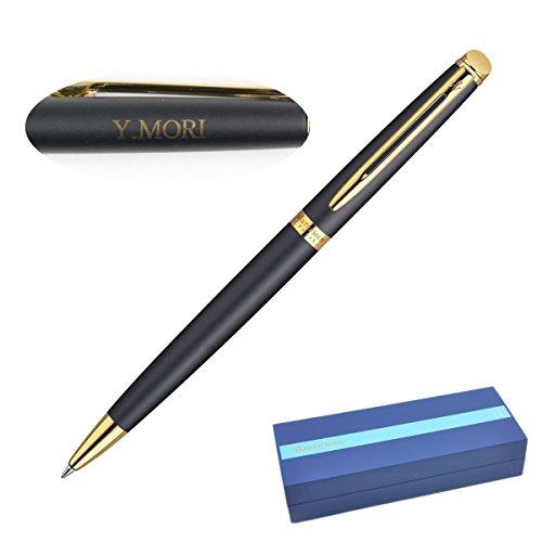 ウォーターマンのボールペンに父の名を刻んでプレゼント
