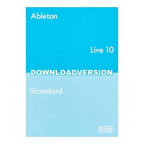 Ableton Live10 Standard 通常版 【メール納品 代引き不可】 エイブルトン