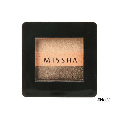 ミシャ(MISSHA) トリプルシャドウ 2g No.2(ハニーオレンジ) [並行輸入品]