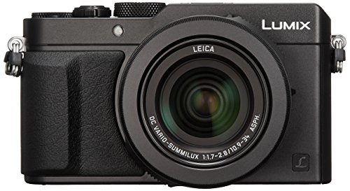 Panasonic コンパクトデジタルカメラ ルミックス LX100 4/3型センサー搭載 4K動画対応 ブラック DMC-LX100-K
