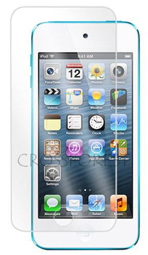 クロスフォレスト iPod touch 65世代用ガラスフィルム 旭硝子製ガラス使用 樹脂製ホームボタンカバー付き ラウンドエッジ Glass Film CF-GHIPT5 液晶保護フィルム