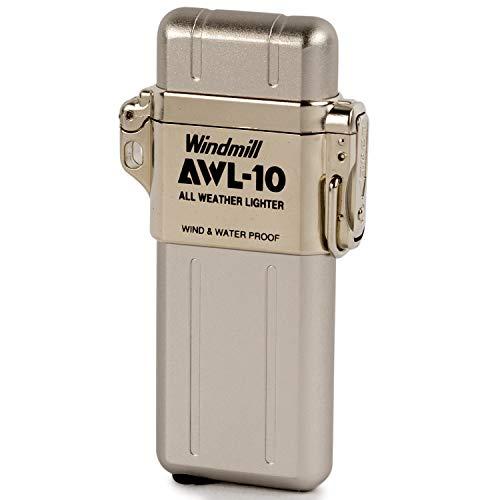 WINDMILL(ウインドミル) ライター AWL-10 ターボ 防水 耐風仕様 シルバー 307-0001