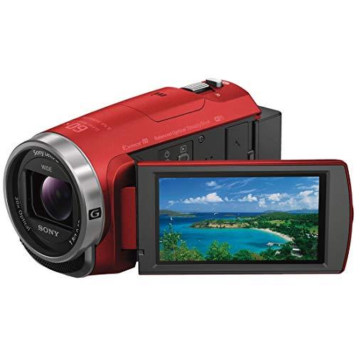 ソニー SONY ビデオカメラ Handycam HDR-CX680 光学30倍 内蔵メモリー64GB レッド HDR-CX680 R