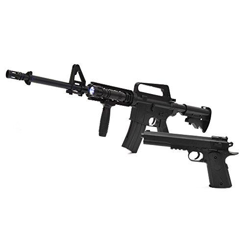 VERSOS エアーガンセット Colt1911モデル & M4 R.I.Sモデル [ VS-C-M4 ] / M4モデル コルトモデル エアーガンキット エアガン サバイバルゲーム サバゲー アウトドア