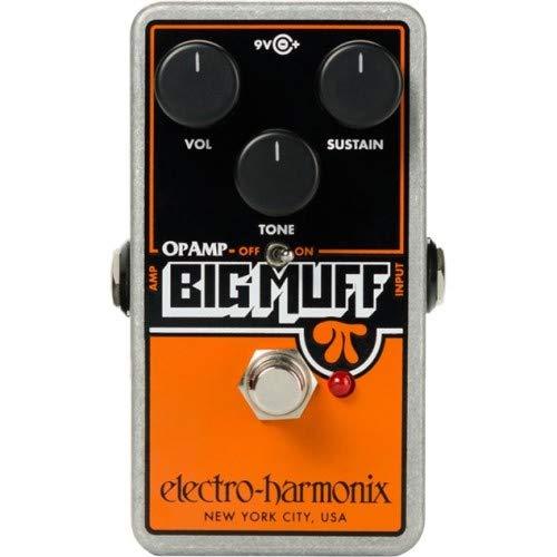 Electro-Harmonix/OP-AMP Big Muff ファズ 一番売れた人気エフェクターランキング!オーバードライブ、ファズ歪み系、ディレイ、リバーブ、コーラス、コンプレッサーの人気ペダル一覧【2018年】