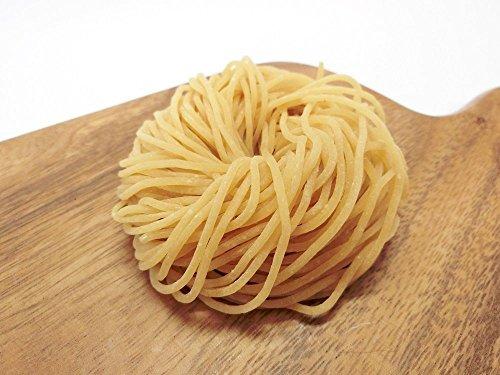【糖質制限なら国産大豆の本格中華麺 】糖質たった3.6g!ロ-カ-ボ中華麺・細麺[冷凍生麺]120g (12玉)